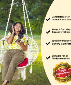 Patiofy Premium Balcony Swing for Adults