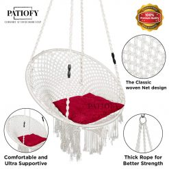 Patiofy Premium Balcony Swing for Adults