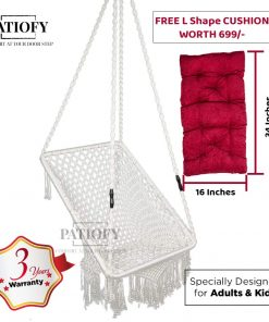 Patiofy Hanging Swing for home