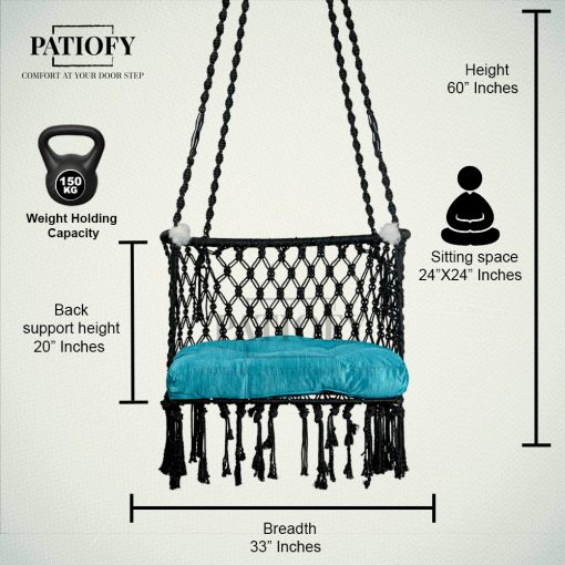 Macrame Hanging Chair for Balcony India