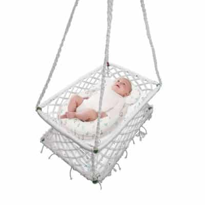 Baby Cradle Hanging Crib Hammock Swing Sleep