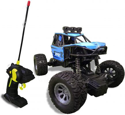 Alloy Monster Crawler Rally Car With Gun Shaped Remote, Pack Of 1, Multicolour