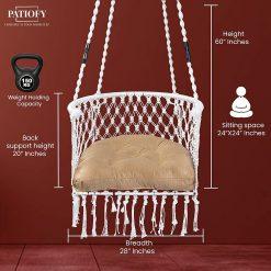 Patiofy Single Swing Chair India