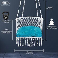 Patiofy Modern Swing Chair