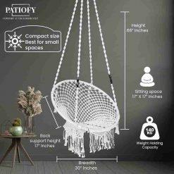 Hanging Swing Chair Round Jhula