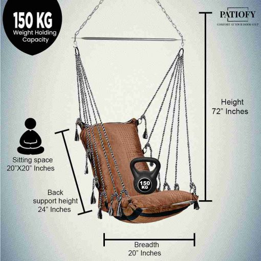 Hanging Swing Chair Without Stand